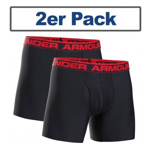 Under Armour® Boxershort Performance, 6 Inch 2er Pack HeatGear®
